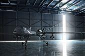 picture of drone  - Lone drone U - JPG
