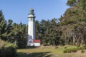 picture of lighthouse  - Grays Harbor Lighthouse - JPG