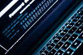 stock photo of hack  - Password Hacking Concept Photo - JPG