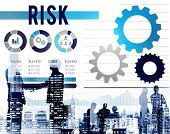 stock photo of dangerous  - Risk Risk Management Dangerous Safety Security Concept - JPG