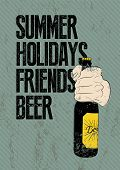 foto of drawing beer  - Summer - JPG