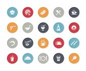 stock photo of continental food  - Food Icon Set 2 of 2  - JPG