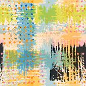 picture of vivid  - Bright artistic seamless pattern - JPG