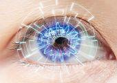 stock photo of cataract  - Close - JPG