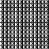 picture of stud  - Metallic surface seamless pattern with studs in grayscale - JPG