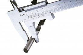 foto of vernier-caliper  - Measuring instrument - JPG