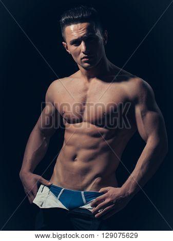 Sexy Muscular Man