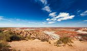 Painted Desert, Arizona. Panorama