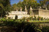 stock photo of hacienda  - old hacienda de san miguel regla mexico - JPG