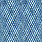 Watercolor Stripe Plaid Seamless Pattern. Blue Stripes Background. Watercolour Hand Drawn Diagonal S poster