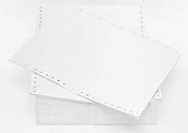 foto of crip  - paper after use for recycle for use in office inside - JPG