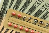 picture of pro-life  - contraceptives over money - JPG