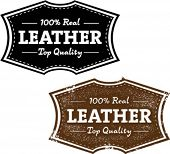 Real Authentic Leather Stamp