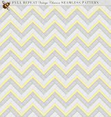 Vintage Style Full Repeat Seamless Chevron Pattern