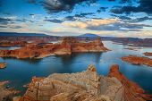 picture of southwest  - Lake Powell - JPG