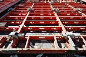 image of formwork  - construction formwork building reinforcement construction equipment at building site - JPG