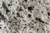 picture of pumice stone  - Pumice rough textured rock surface - JPG