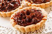 picture of tarts  - chocolate tarts - JPG