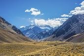 pic of mendocino  - Aconcagua the highest mountain in the Americas at 6 - JPG