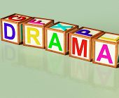 Drama Blocks Show Roleplay Theatre Or Production