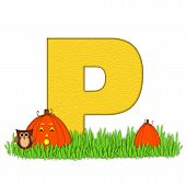 Alphabet Pumpkin Patch P
