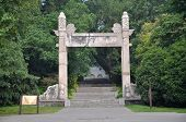 picture of mausoleum  - Dismounting Archway  - JPG