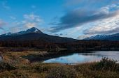 stock photo of tierra  - Landscapes of Tierra del Fuego South Argentina - JPG