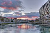 stock photo of souse  - Rhone river - JPG
