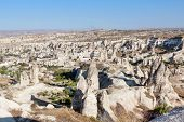image of goreme  - View of the small town Goreme in Cappadocia - JPG