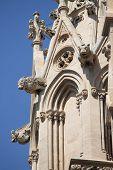 stock photo of gargoyles  - Gargoyles in the cathedral of Palma de Mallorca, Spain ** Note: Shallow depth of field - JPG