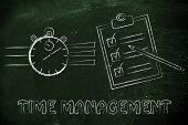 stock photo of tasks  - time management - JPG