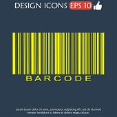 pic of barcode  - Barcode icon vector illustration - JPG