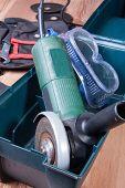 foto of friction  - Electric grinder - JPG