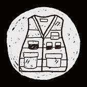 picture of vest  - Vest Doodle - JPG