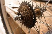 picture of bicycle gear  - Bicycle repair - JPG