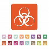 image of biohazard symbol  - The biohazard icon - JPG