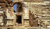Ancient Theater At Hierapolis poster