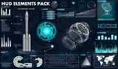 Space Launch Rockets, Instrument Panel, Grafics, Radars, Space Dish, Sensors, 3d Spaceship, In The H poster