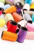 pic of lurex  - bobbins of lurex thread - JPG