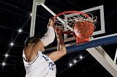 Basketball player. Basketball concept poster