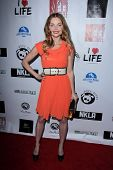 LOS ANGELES - APR 2:  Izabella Miko arrives at  the No Kill L.A. Charity Event at the Fred Segal on