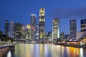 stock photo of cbd  - Singapore Central Business District  - JPG