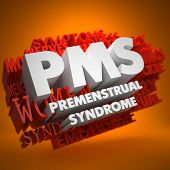 stock photo of pms  - PMS  - JPG