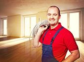 craftman and house indoor background