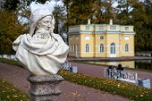 picture of tsarskoe  - Statue in the Catherine park in Pushkin  - JPG