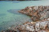 foto of galway  - Beautiful view on lagoon in Carraroe - JPG