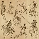 foto of mongol  - Warriors - JPG
