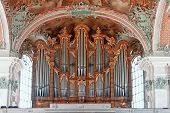 stock photo of pipe organ  - Church Organ of St - JPG