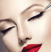 stock photo of lipstick  - Makeup - JPG