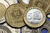pic of pesos  - Coins of the Dominican Republic - JPG